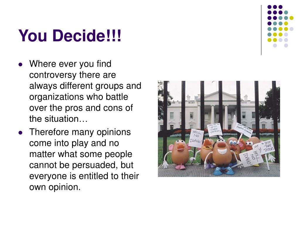 You Decide!!!