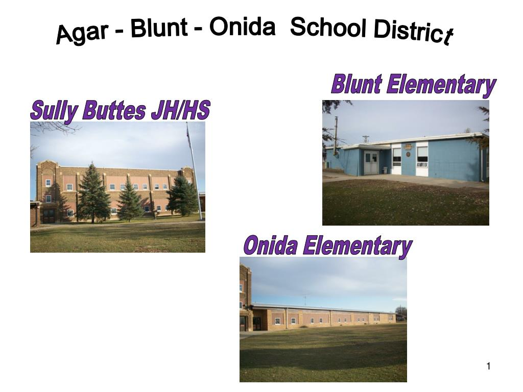 Agar - Blunt - Onida  School District