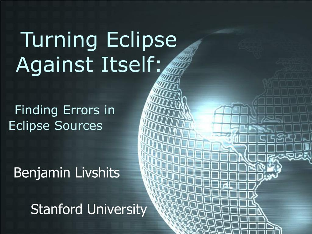 Turning Eclipse