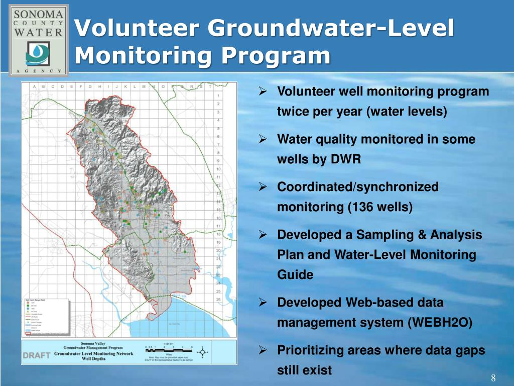 Volunteer Groundwater-Level Monitoring Program