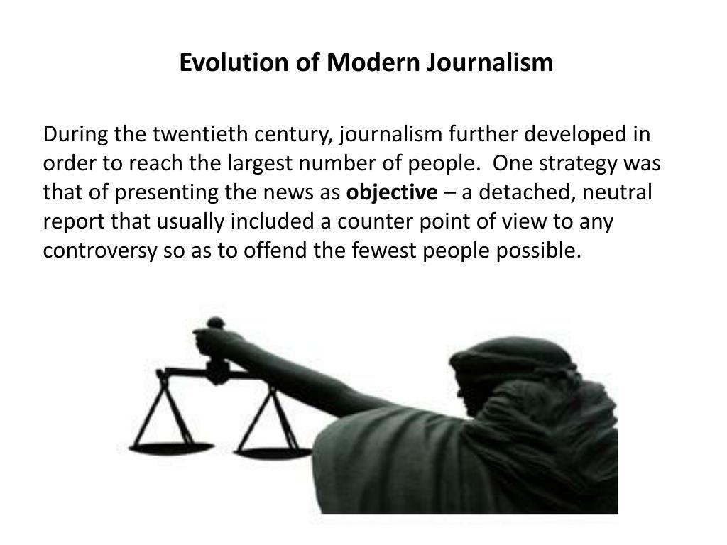 Evolution of Modern Journalism