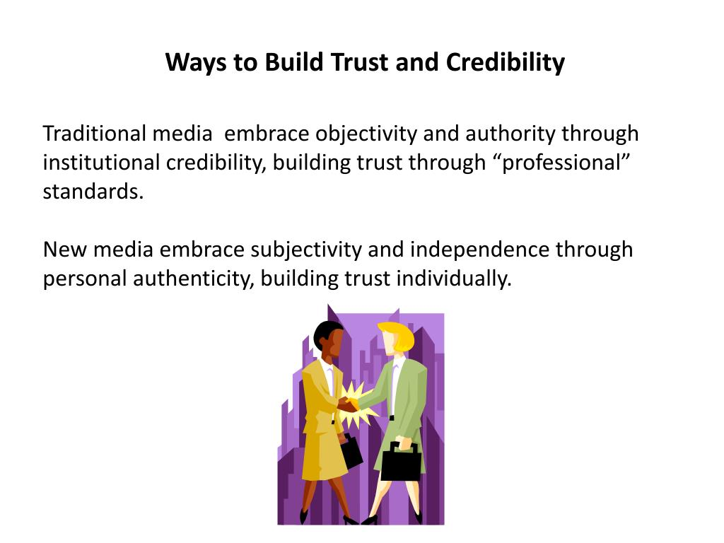 Ways to Build Trust and Credibility