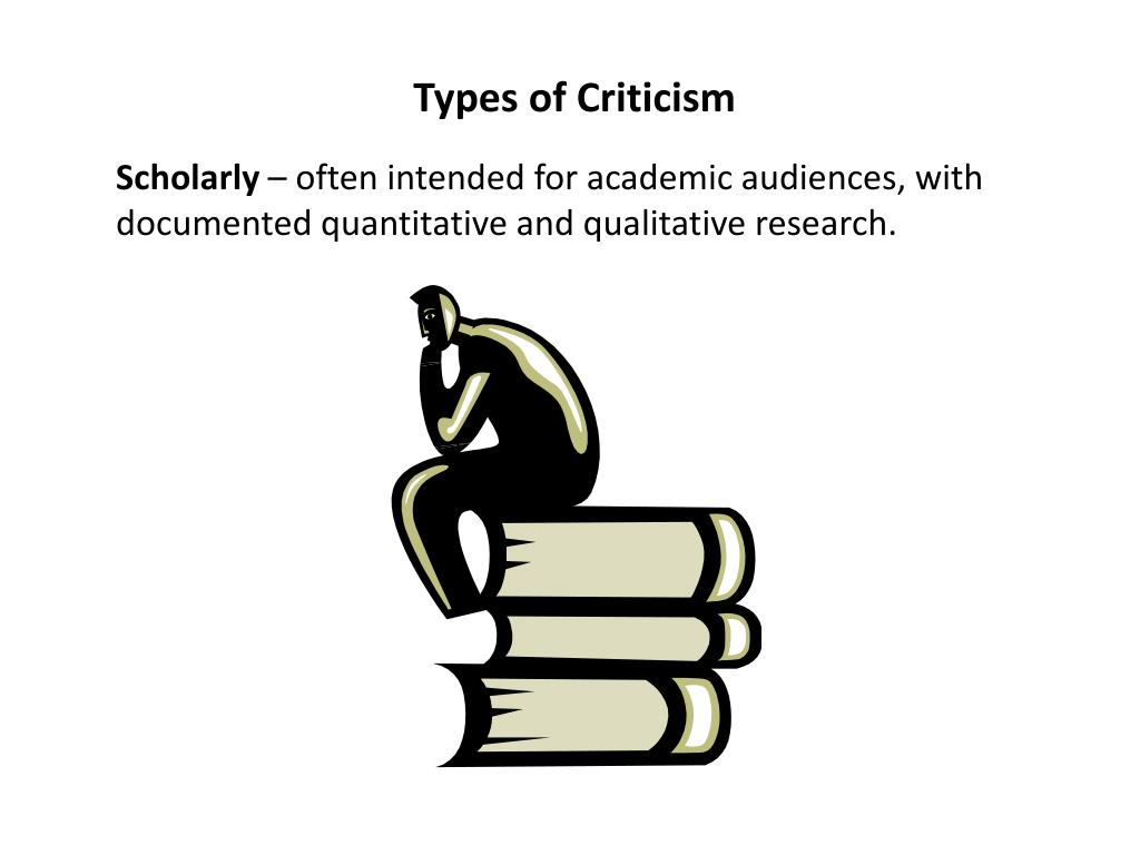 Types of Criticism