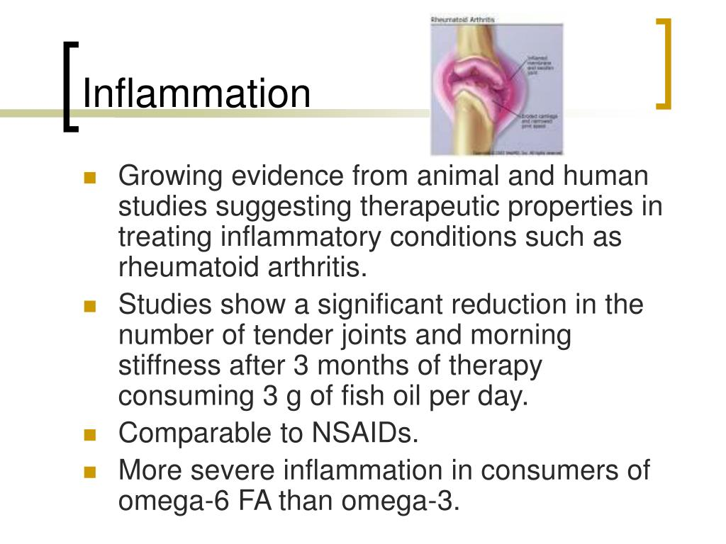 Ppt fish oil powerpoint presentation id 167277 for Best fish oil to reduce inflammation