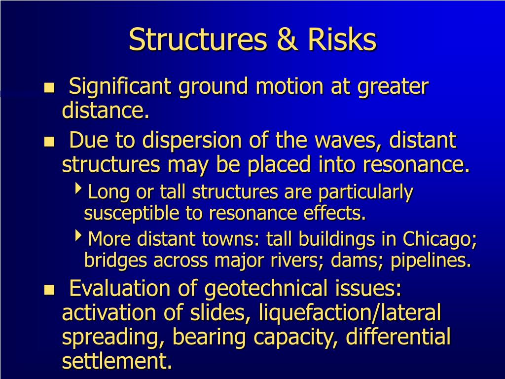 Structures & Risks