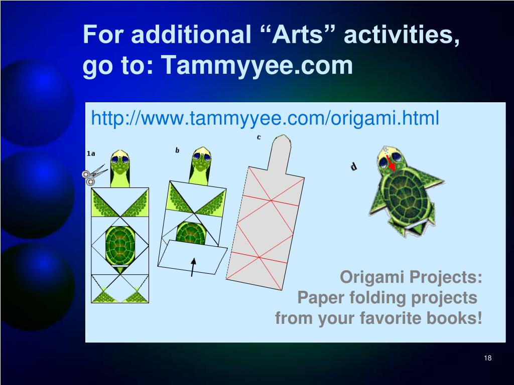 """For additional """"Arts"""" activities, go to: Tammyyee.com"""