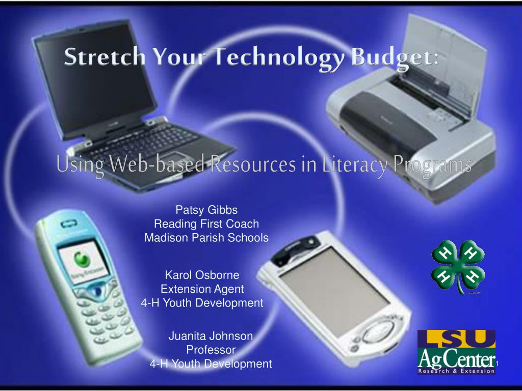 Stretch Your Technology Budget: