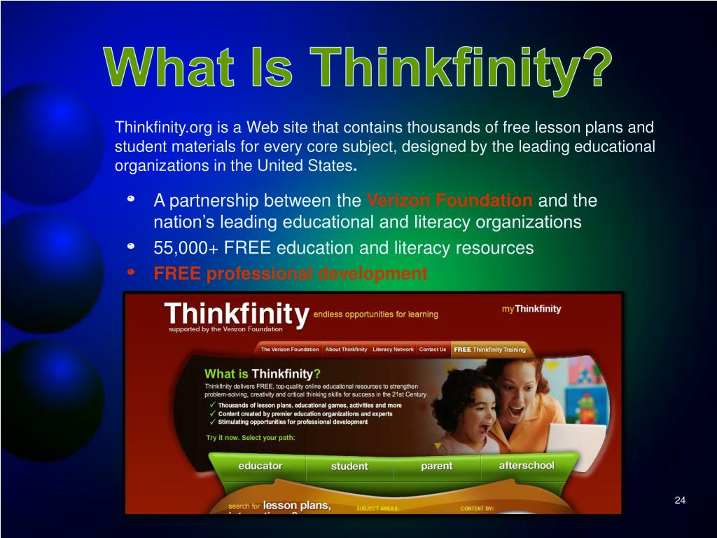 What Is Thinkfinity?