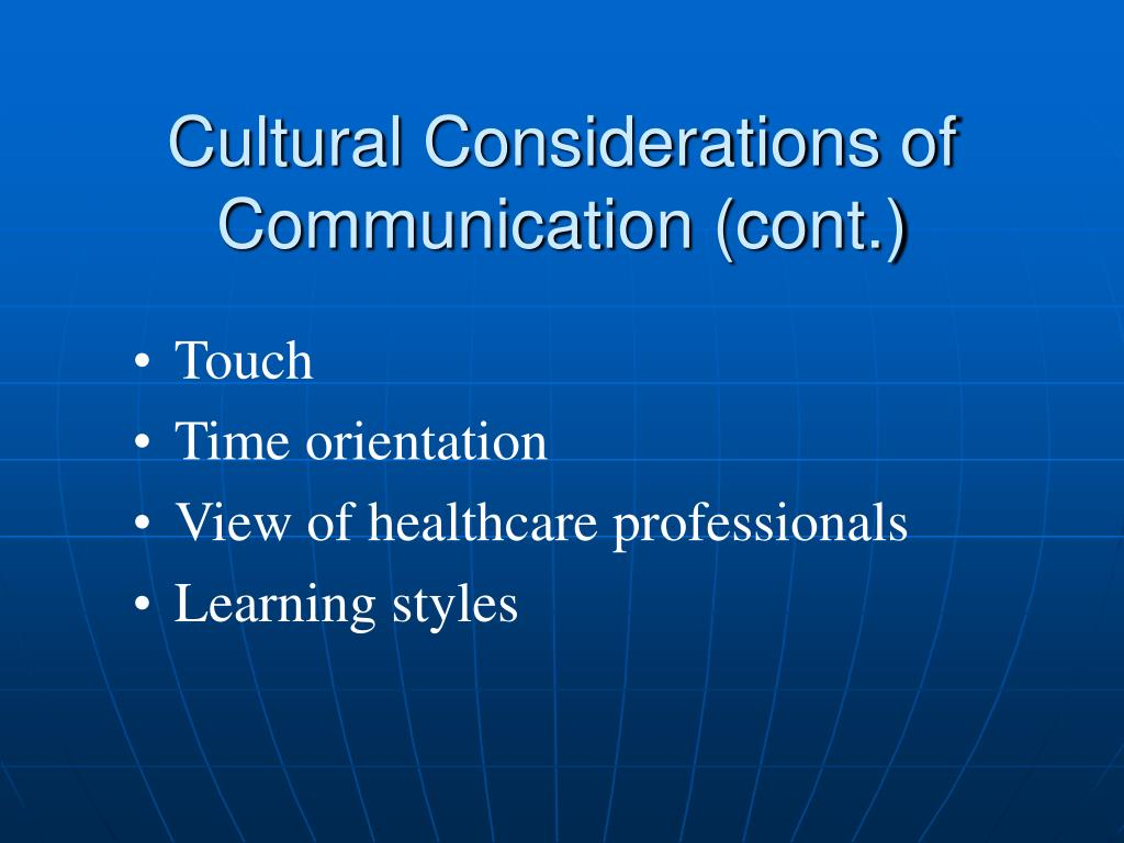 considerations of communication style essay Reflective essay on person-centered communication in reflective essay on person-centred communication in well as relevant ethical considerations including the.