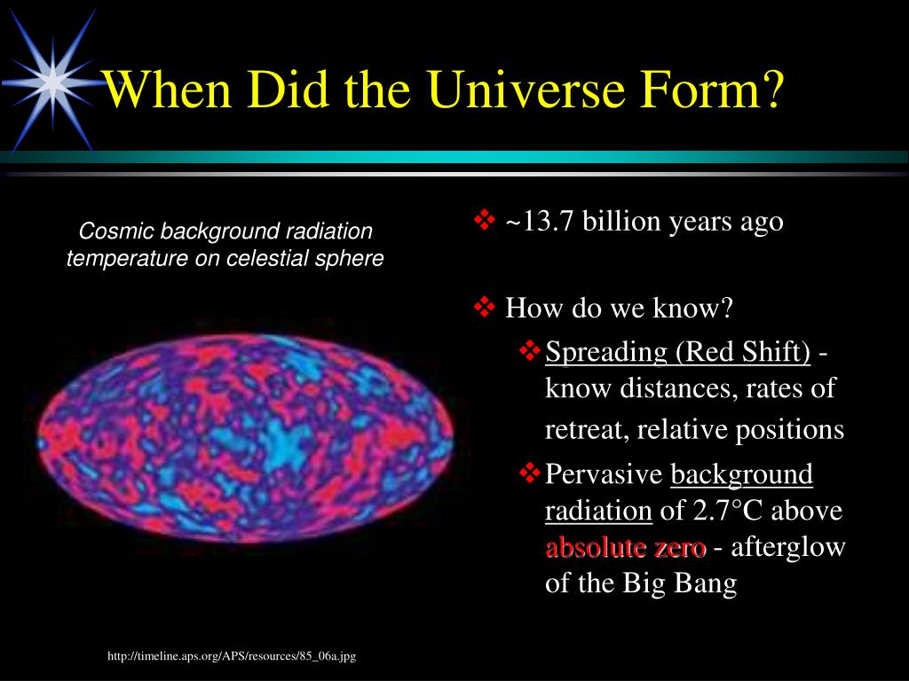 When Did the Universe Form?
