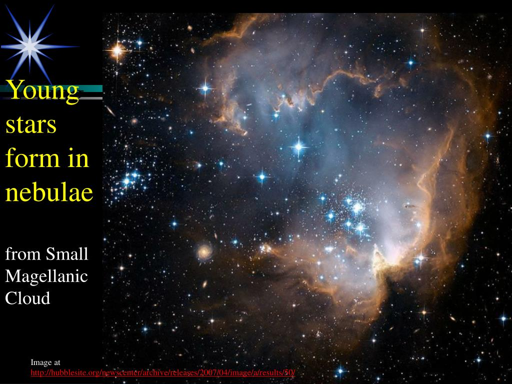 Young stars form in nebulae