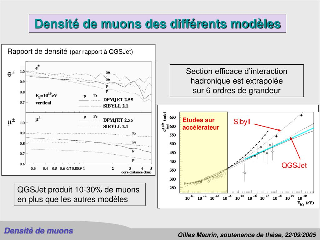 Section efficace d'interaction
