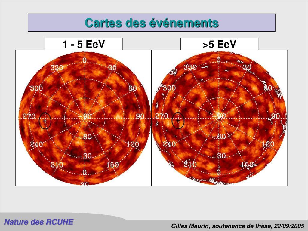 1 - 5 EeV