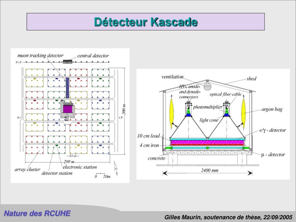 Détecteur Kascade