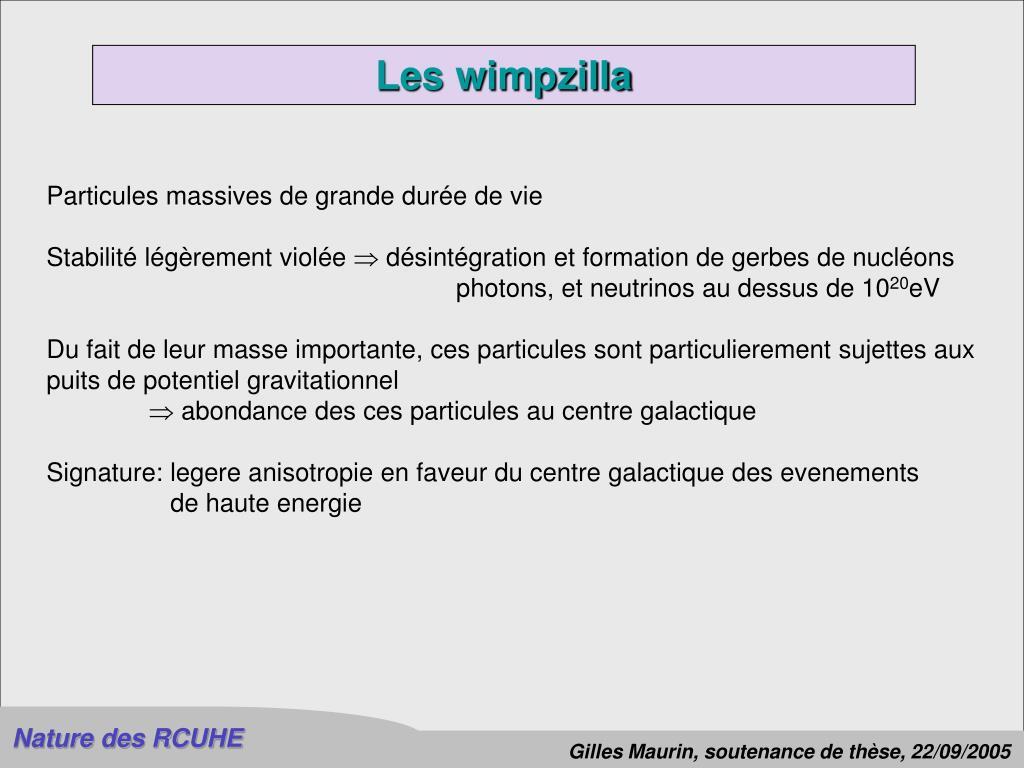 Les wimpzilla