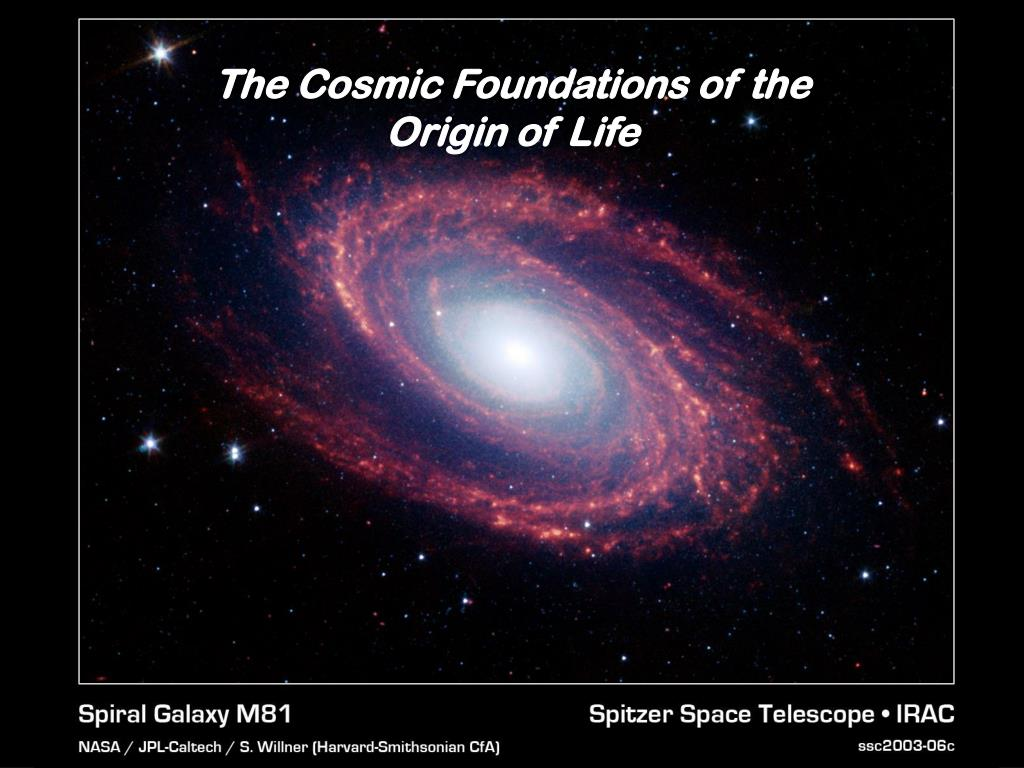 The Cosmic Foundations of the