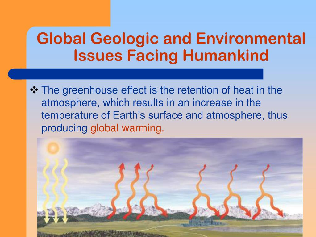 Global Geologic and Environmental Issues Facing Humankind