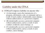liability under the cfaa3