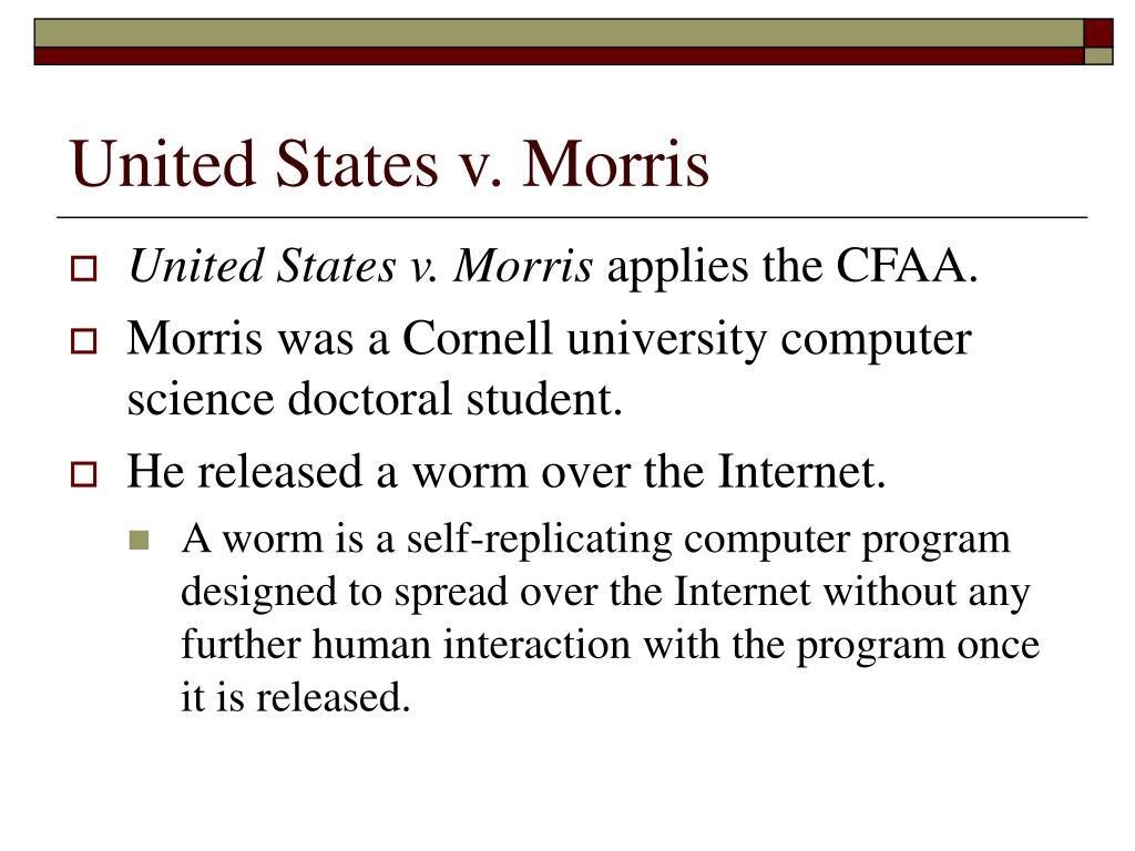 United States v. Morris