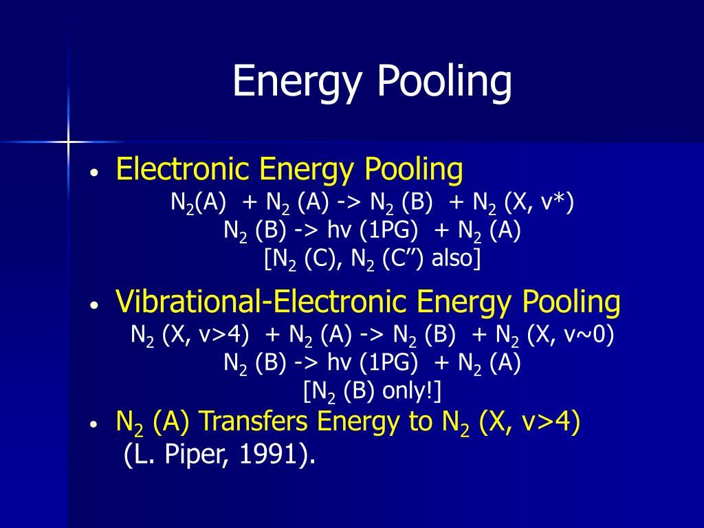 Energy Pooling