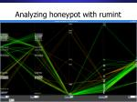 analyzing honeypot with rumint
