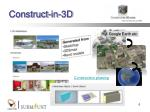 construct in 3d