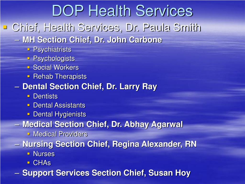 DOP Health Services