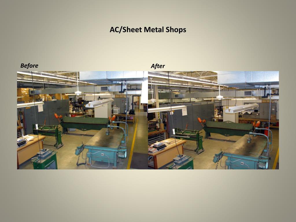 AC/Sheet Metal Shops