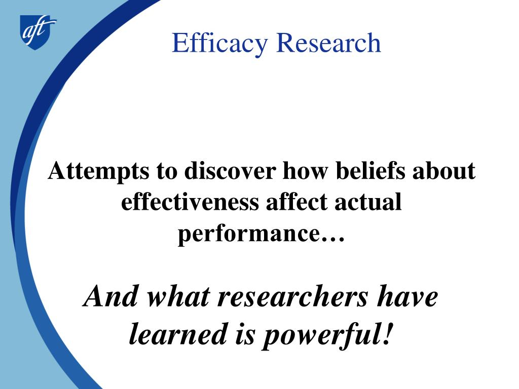 Efficacy Research