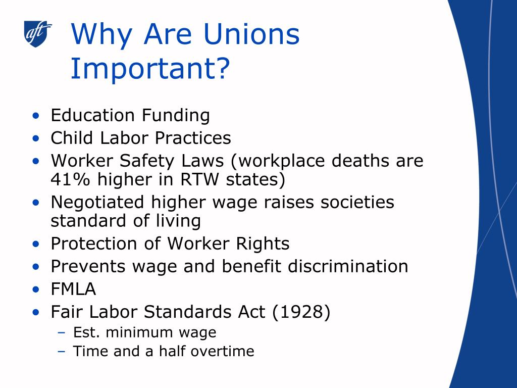 Why Are Unions Important?