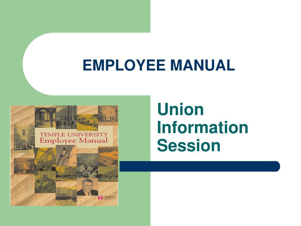 employee manual
