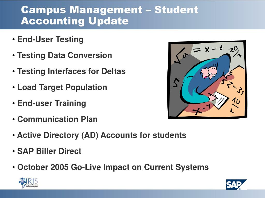 Campus Management – Student Accounting Update