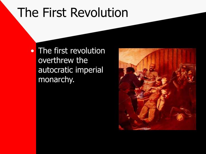 The First Revolution