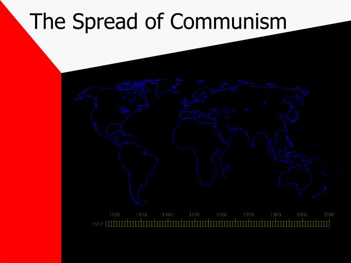 The Spread of Communism