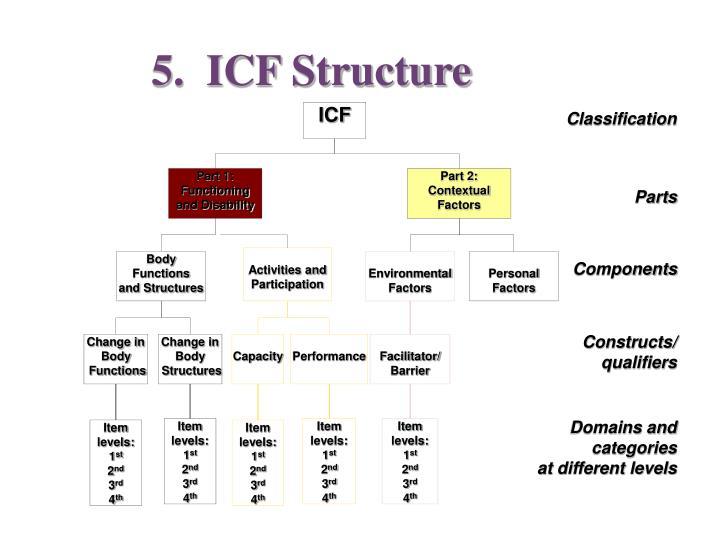 5.  ICF Structure