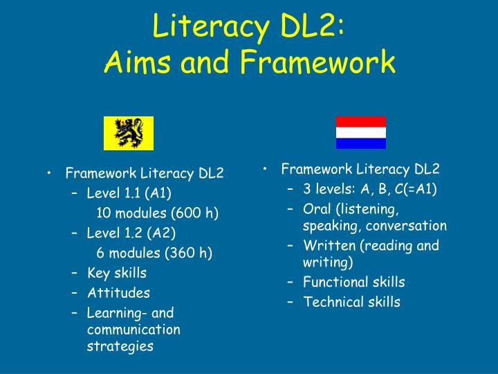 Framework Literacy DL2