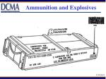 ammunition and explosives65