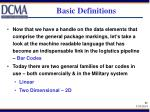 basic definitions11