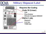 military shipment label33