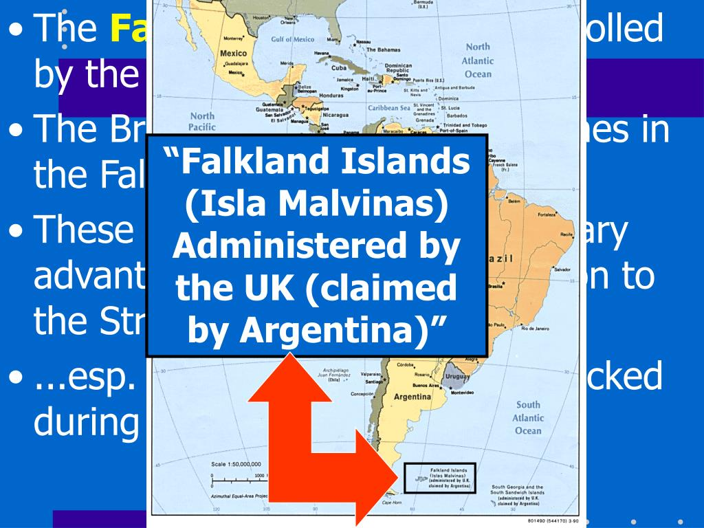 """""""Falkland Islands (Isla Malvinas) Administered by the UK (claimed by Argentina)"""""""