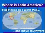 where is latin america