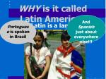 why is it called latin america