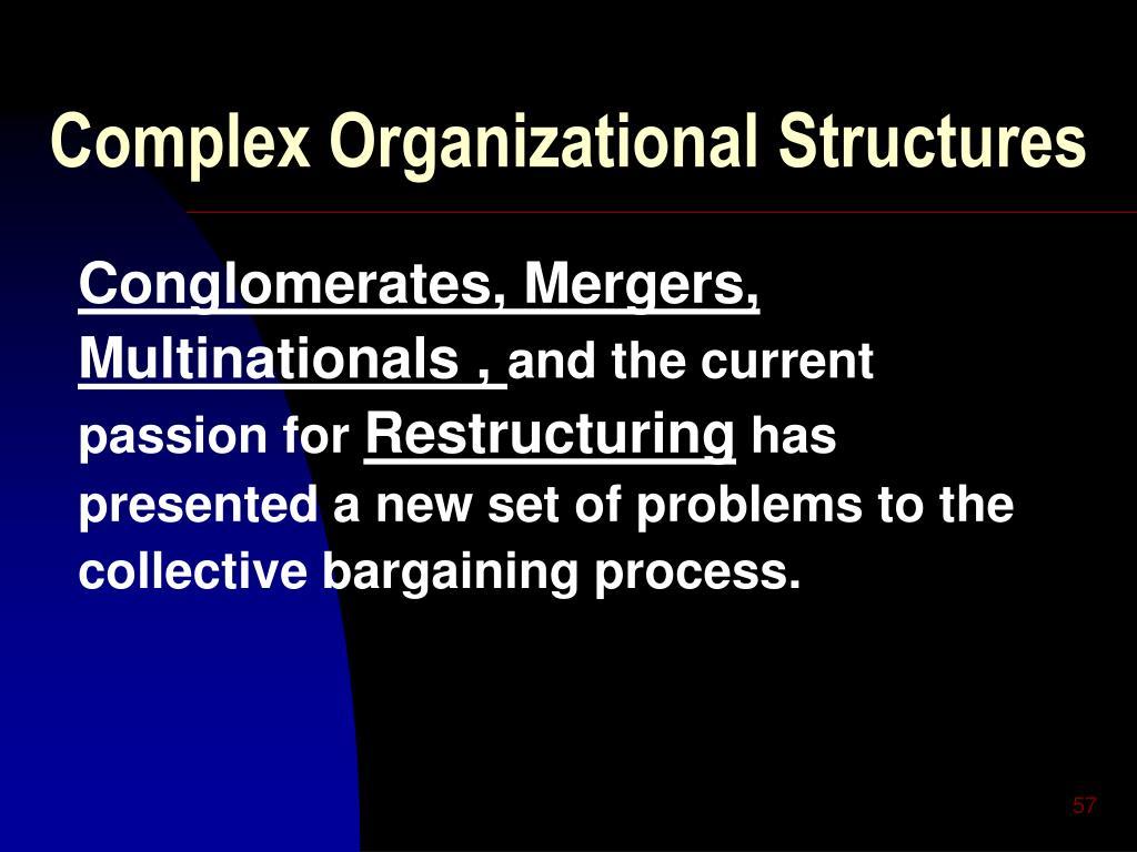 Complex Organizational Structures
