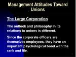 management attitudes toward unions54