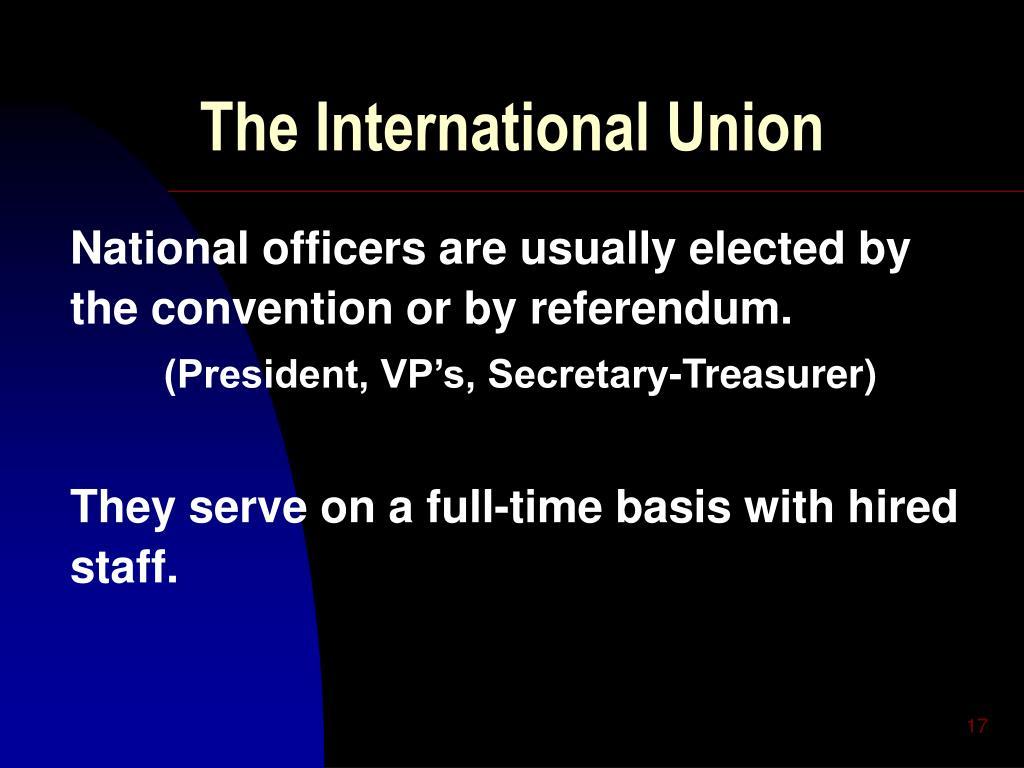 The International Union