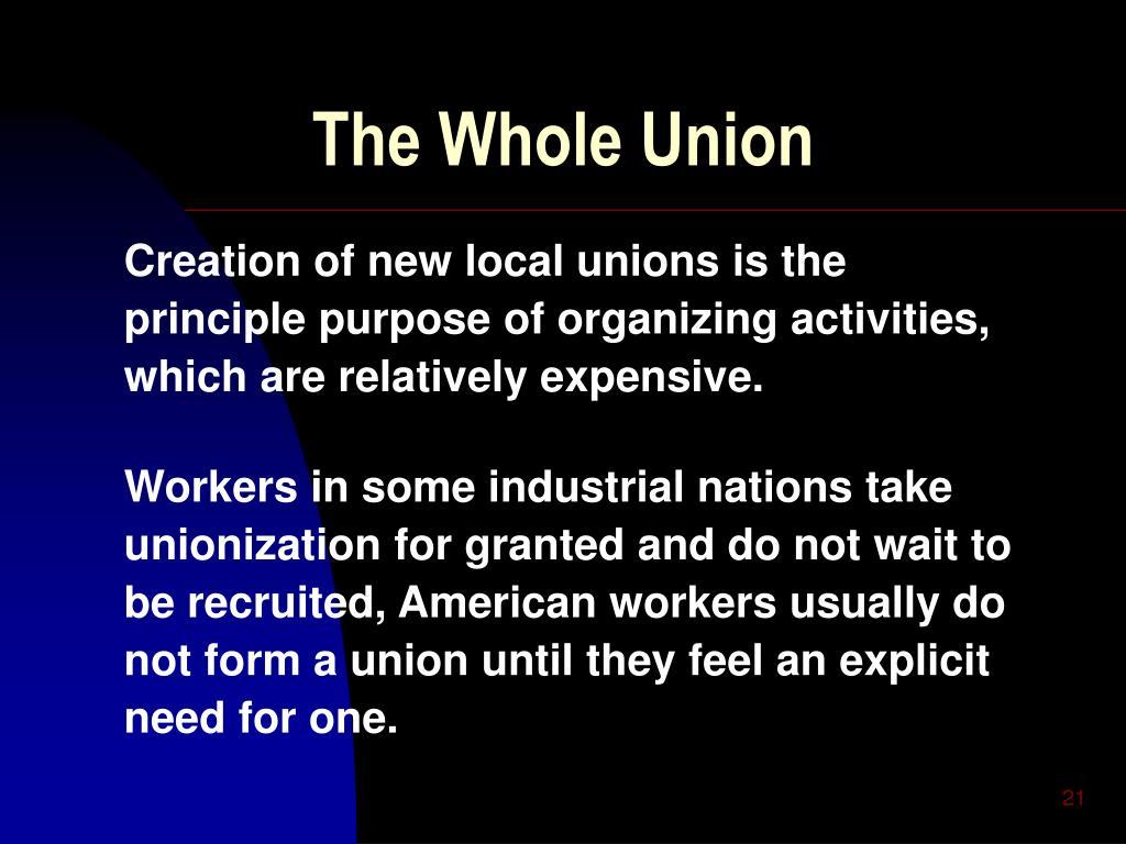 The Whole Union