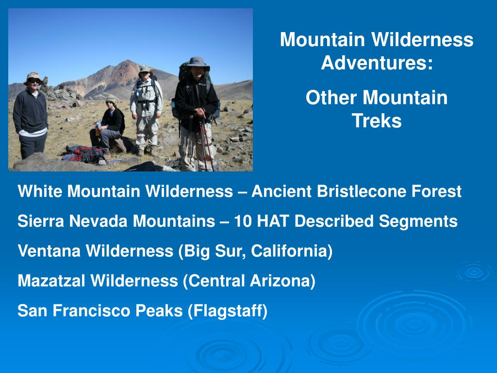 Mountain Wilderness Adventures:
