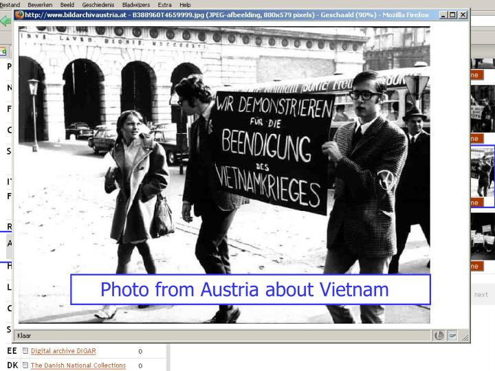 Photo from Austria about Vietnam