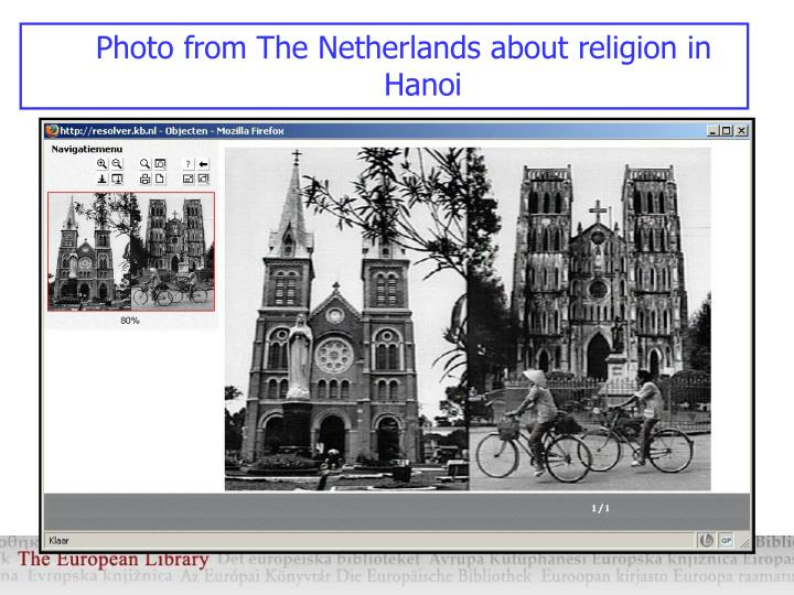 Photo from The Netherlands about religion in Hanoi