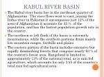 kabul river basin